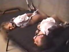 Two Flight Attendants Are Hogtied in the Basement