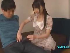 Chinese, Asian, Bed, Blowjob, Chinese, Cute