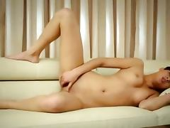 wide legs and horny vagina