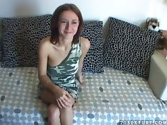 Chick Inserts Dildo and Baseball Bat In Her Snatch