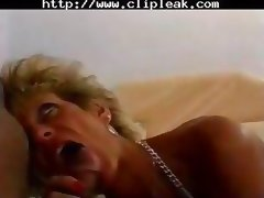 Hot Mature Busty Blonde Cougar Works Over Bbc