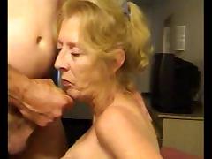 Granny, Amateur, Cum, Granny, Sucking