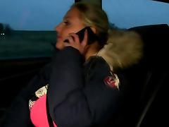 Public euro amateur suck cab driver