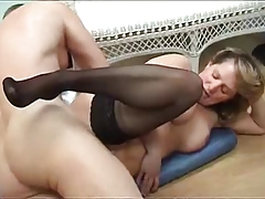 British The Mature Couple Get At It