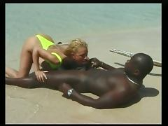 Beach, Anal, Beach, French, Interracial