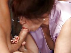 Mom and Boy, 18 19 Teens, Anal, Blowjob, Couple, Cum