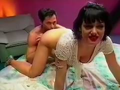 Jeanna Precious Receives A Face Full Of Peter North