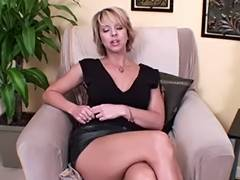 Golden Haired mother I'd like to fuck JOI