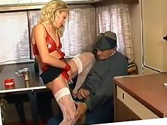 French, Drilled, French, Fucking, Hooker, Mature