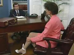 Boss, Boss, Hairy, Horny, Secretary, Stockings