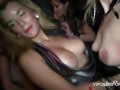 Wild girls showing BJ talents at a VIP sex party