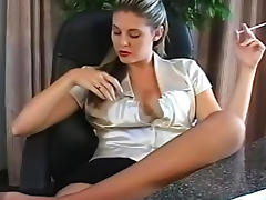 Beauty, Beauty, Fetish, HD, Nylon, Smoking
