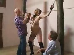 All, BDSM, Blonde, Bondage, Pregnant, Slave