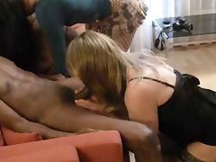Big Black Cock Fucking Sexy Blonde CD