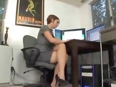 Cougar, Blowjob, Boss, Cougar, MILF, Office