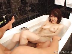Japanese, Asian, Bath, Big Tits, Couple, Japanese