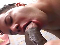 Twink Getting Fucked By Big Black Cock CD
