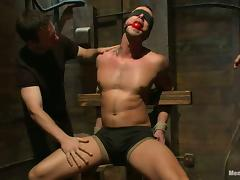 Jessie Colter gets bounded and toyed in the ass by Will Jasper