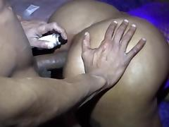bbw blak anal