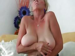 Granny, Big Tits, Boobs, Cunt, Granny, Masturbation