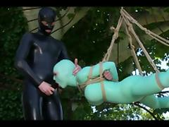 Catsuit, BDSM, Bound, Catsuit, Latex, Teen