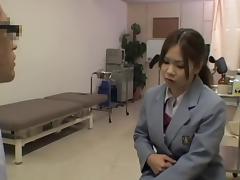 Japanese, Asian, Caught, Exam, Fingering, Gyno