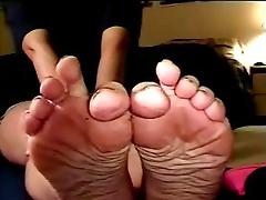 Dirty Female Toes