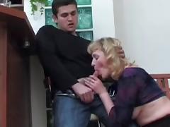 Mom and Boy, Anal, Ass, Assfucking, Kissing, Mature