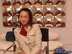 Katsuni marvelous Oriental ass got pumped