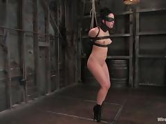 Rope Games and Kinky Wired Torture in Lesbian Femdom