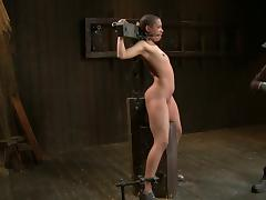 Ebony immobilized and tortured