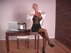 Office, Boobs, Masturbation, Mature, Office, Old