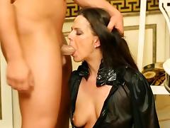 Angry, Angry, Bitch, Blowjob, Brunette, Choking