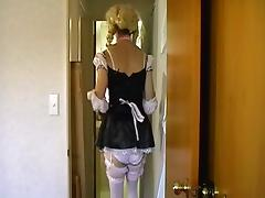 crossdresser riding toy