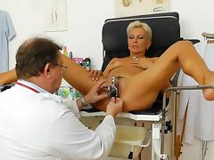 Doctor, Blonde, Doctor, Enema, Gyno, Hospital