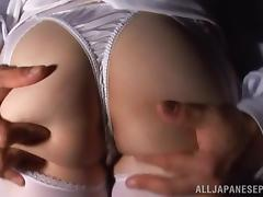 Yuuka Tsubasa naughty Asian nurse is wild sex