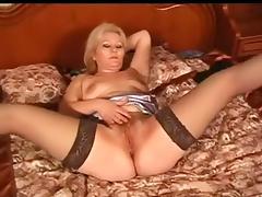 Russian Mature Masturbates (My Enjoyable Mommies 28)
