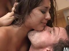 Jynx Maze and London Keyes sharing a dick