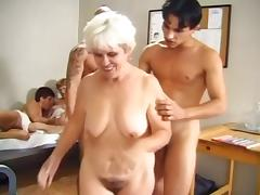 Old, Granny, Group, Mature, Old, Orgy