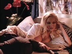 Stacy Valentine is fucked silly by a guy with a large dick