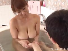 Japanese, Asian, Bath, Bathing, Bathroom, Big Tits
