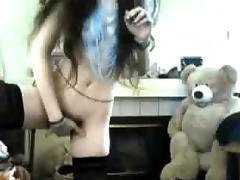 brunette hair cam
