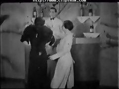 Vintage Porn 1920s Ffm Threesome Nudist Bar