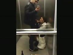 All, Amateur, Blowjob, Elevator, Penis, Sex