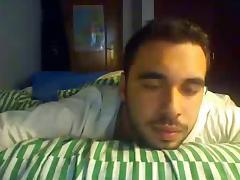 Straight guys feet on webcam #339