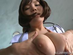 Japanese, Asian, Big Cock, Big Tits, Blowjob, Boobs