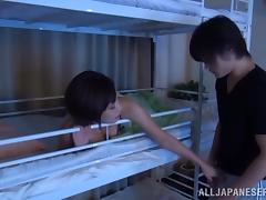 Sexy amateur Asian gets her pussy licked and pounded deep