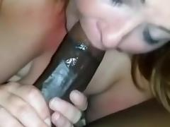 SEXY BBW SUCKS BBC STUD