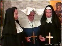 Angry, Angry, Ass, Lesbian, Nasty, Nun