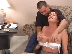 Son, Big Tits, Fingering, Massage, Mature, Masseuse